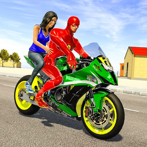 Superhero Bike Taxi Simulator – Bike Driving Games 1.2 Apk Pro Mod latest