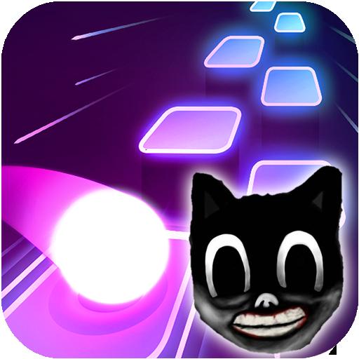 Cartoon cat – Hop round tiles edm rush 1.4 Apk Mod (unlimited money) Download latest