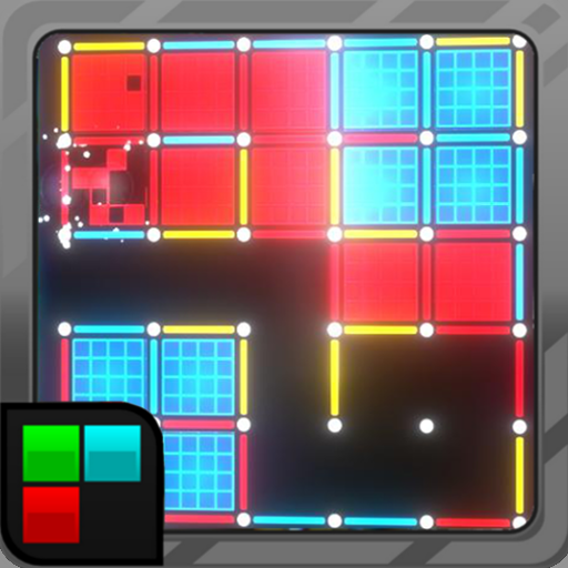 Dots and Boxes (Neon) 80s Style Cyber Game Squares 2.1.16 Apk Pro Mod latest