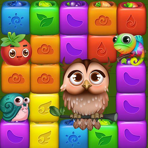 Fruit Funny Blocks: farm cubes day 1.2.8 Apk Mod (unlimited money) Download latest