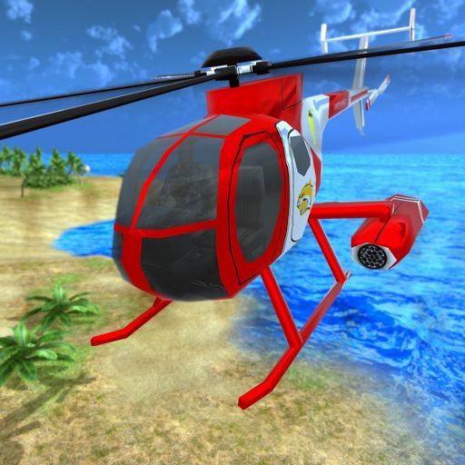 Helicopter Rescue Flying Simulator 3D 1.1 Apk Pro Mod latest