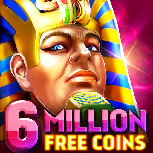 Pharaohs of Egypt Slots Casino Hit Slot Machine 1.55.12 Apk Mod (unlimited money) Download latest