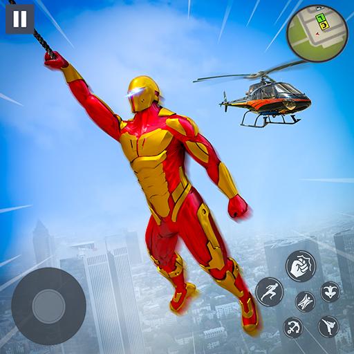Super Speed Rope Hero : Flying Superhero Games 1.0 Apk Mod (unlimited money) Download latest