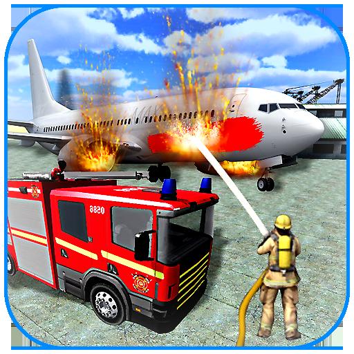 American Fire Fighter 2019: Airplane Rescue 0.8 Apk Pro Mod latest
