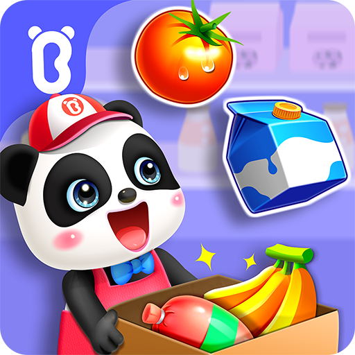 Baby Panda's Town: Supermarket  8.57.00.00 Apk Mod (unlimited money) Download latest