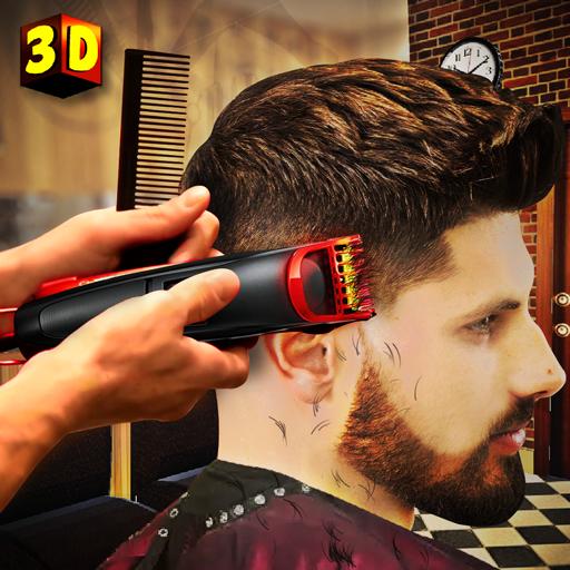 Barber Shop Hair Salon Cut Hair Cutting Games 3D 2.4 Apk Mod (unlimited money) Download latest