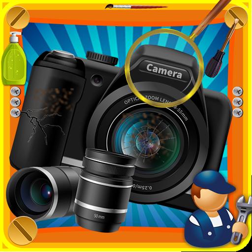 Camera Repair Shop Game 1.2 Apk Mod (unlimited money) Download latest
