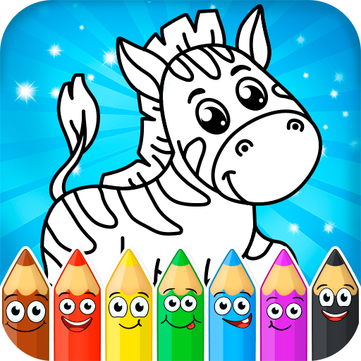 Coloring pages for children: animals 1.1.0 Apk Mod (unlimited money) Download latest