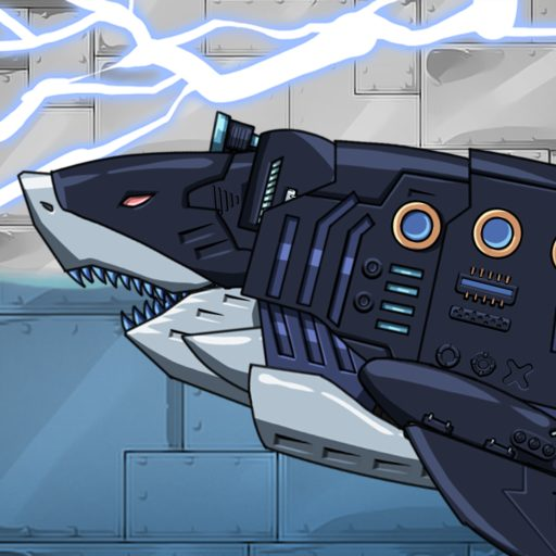Dino Robot – Megalodon : Dinosaur game 2.0.2 Apk Pro Mod latest