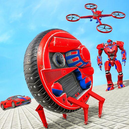 Drone Robot Car Driving – Spider Wheel Robot Game 1.3 Apk Pro Mod latest