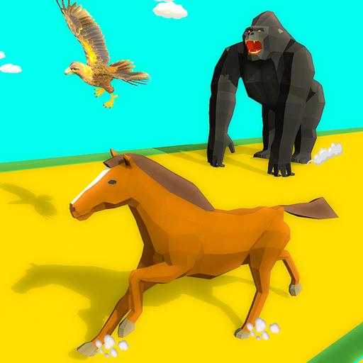Epic Animal Dash Run 3D: Hop and Smash 1.0 Apk Mod (unlimited money) Download latest