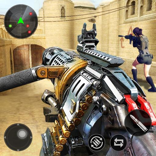 FPS Offline Strike : Encounter strike missions  3.7.44 Apk Mod (unlimited money) Download latest
