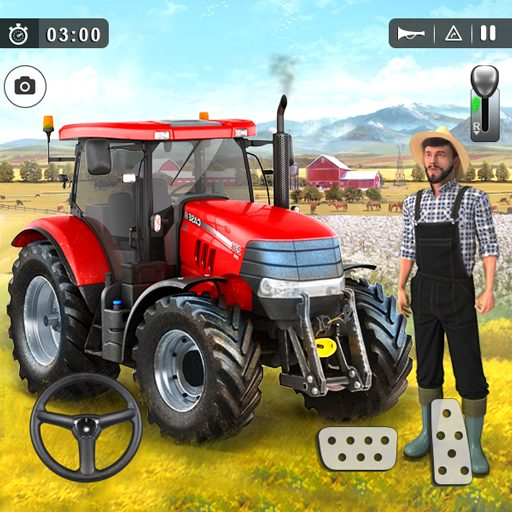 Farming Game 2021 – Free Tractor Driving Games 1.1.1 Apk Mod (unlimited money) Download latest
