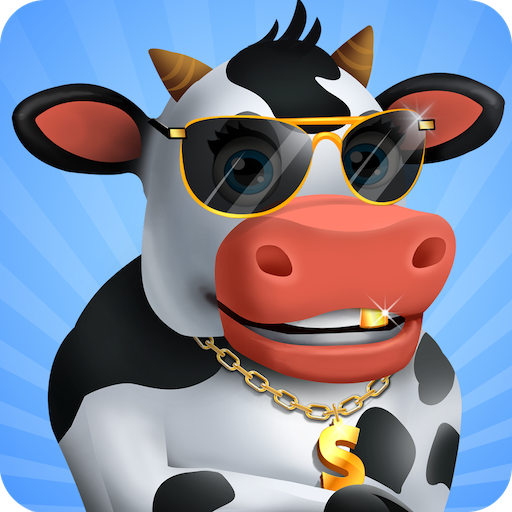 Idle Cow Clicker Games: Idle Tycoon Games Offline  3.1.4 Apk Mod (unlimited money) Download latest