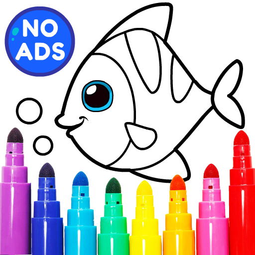 Learning & Coloring Game for Kids & Preschoolers 29.0 Apk Mod (unlimited money) Download latest