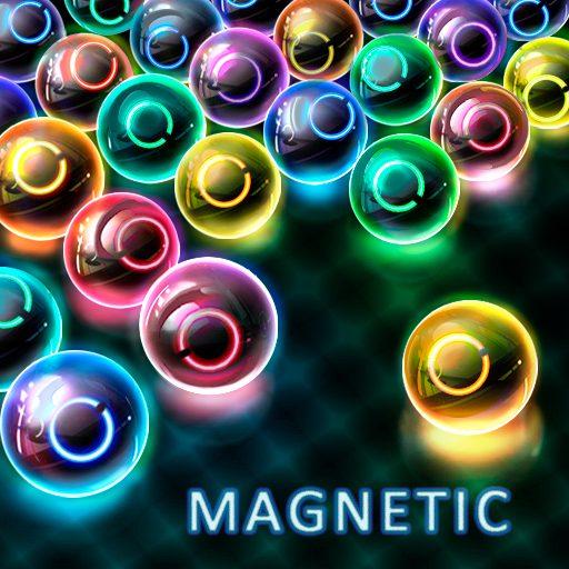 Magnetic Balls – Neon Bubble Shooter – Match 3 1.402 Apk Mod (unlimited money) Download latest