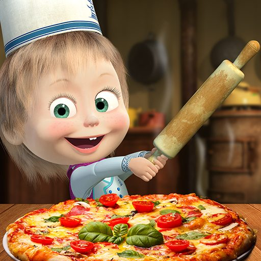 Masha and the Bear Pizzeria Game! Pizza Maker Game 1.1.9 Apk Mod (unlimited money) Download latest
