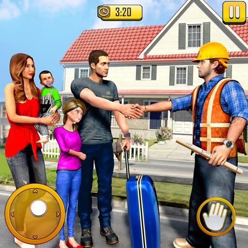 New Family House Builder Happy Family Simulator 1.7 Apk Pro Mod latest