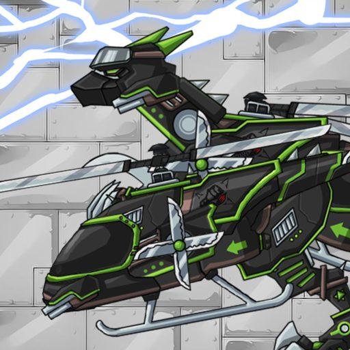 Ninja Velociraptor-Combine!Dino Robot:DinosaurGame 2.0.1 Apk Pro Mod latest