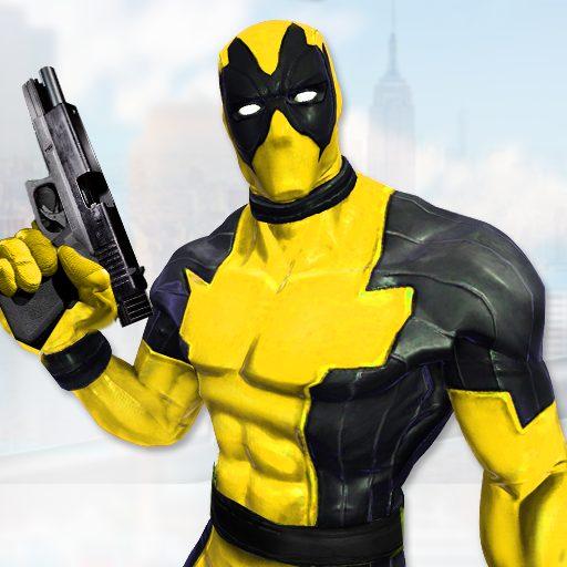 Real Ninja Superhero Las Vegas gangster Fight 1.0.1 Apk Mod (unlimited money) Download latest