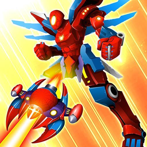 Thunder Fighter Superhero: Strikers Shoot 'Em Up 5.8 Apk Pro Mod latest