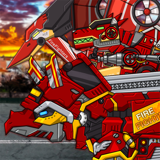 Triceratops – Combine! Dino Robot Fire Truck Squad 1.4.3 Apk Mod (unlimited money) Download latest