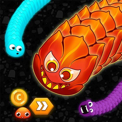 Worm Hunt .io – Battle royale snake game 1.0.2 Apk Pro Mod latest