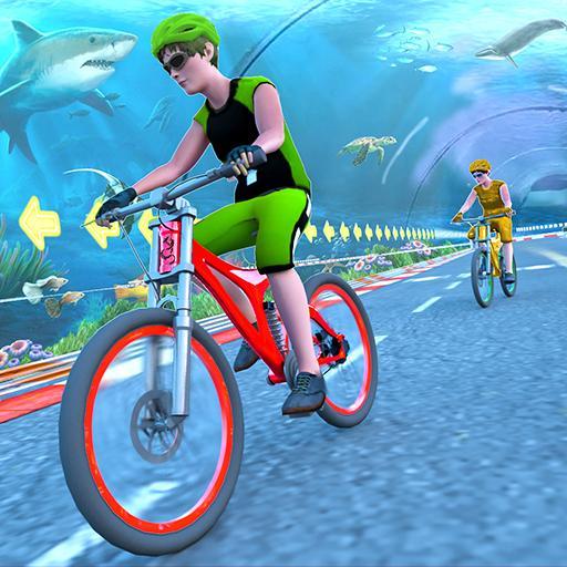 Underwater Stunt Bicycle Race Adventure 1.4 Apk Mod (unlimited money) Download latest