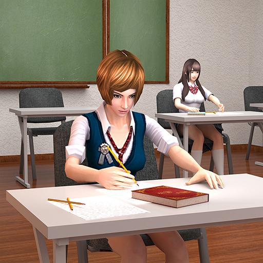 Anime School Girl Simulator High school Games 2020 1.0.1 Apk Pro Mod latest